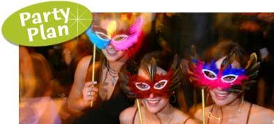 New Orleans Mardi Gras Party Jazz Theme